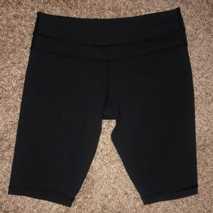 Black Lululemon Biker Shorts